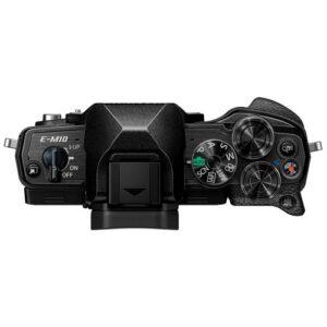 Foto 3 Kit Fotocamera Mirrorless Olympus E-M10 IV + Obiettivo ED 14-42mm F/3.5-5.6 Nero