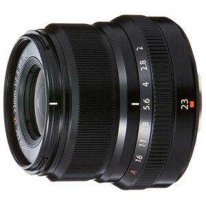 Foto 1 Obiettivo Mirrorless Fujifilm XF 23mm F/2.0 WR Nero