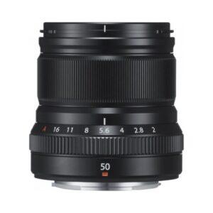 Foto 1 Obiettivo Mirrorless Fujifilm XF 50mm F/2.0 R WR Nero
