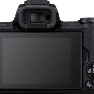 Foto 2 Fotocamera Mirrorless Canon EOS M50 Body Black – Prodotto in Italiano