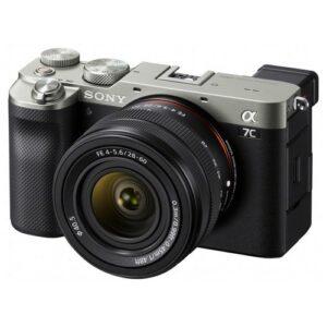 Foto 1 Fotocamera Mirrorless Sony Alpha 7C + Obiettivo 28-60mm Silver – Prodotto in Italiano