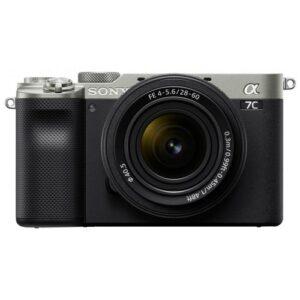 Foto principale Fotocamera Mirrorless Sony Alpha 7C + Obiettivo 28-60mm Silver – Prodotto in Italiano