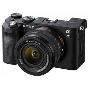 Foto 1 Kit Fotocamera Mirrorless Sony Alpha 7C + Obiettivo 28-60mm Black – Prodotto in Italiano