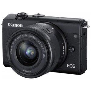Foto 2 Fotocamera Mirrorless Canon EOS M200 Black – Prodotto in Italiano
